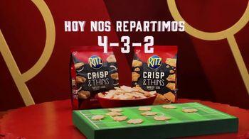 Ritz Crackers Crisp & Thins TV Spot, 'El día del partido' [Spanish] - Thumbnail 5
