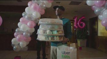 Uber Eats TV Spot, 'Sweet Sixteen' - 12 commercial airings