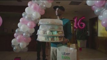 Uber Eats TV Spot, 'Sweet Sixteen' - 12 commercial airings