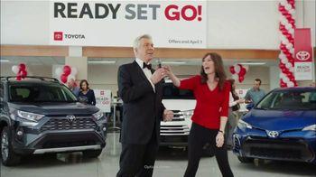 Toyota Ready Set Go! TV Spot, 'Spring Match' Featuring Michael Buffer [T2]