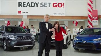 Toyota Ready Set Go! TV Spot, 'Spring Match' Featuring Michael Buffer [T2]