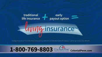 Colonial Penn TV Spot, 'Living Insurance' - Thumbnail 4