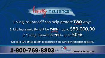 Colonial Penn TV Spot, 'Living Insurance' - Thumbnail 6