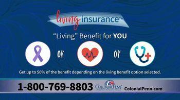 Colonial Penn TV Spot, 'Living Insurance' - Thumbnail 7