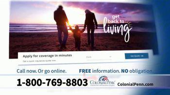 Colonial Penn TV Spot, 'Living Insurance' - Thumbnail 8