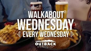 Outback Steakhouse Walkabout Wednesday TV Spot, 'For Steak and Beer: $10.99' - Thumbnail 10