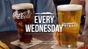 Outback Steakhouse Walkabout Wednesday TV Spot, 'For Steak and Beer: $10.99' - Thumbnail 7