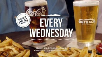 Outback Steakhouse Walkabout Wednesday TV Spot, 'For Steak and Beer: $10.99' - Thumbnail 8