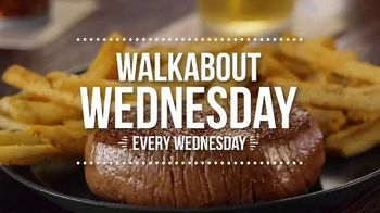Outback Steakhouse Walkabout Wednesday TV Spot, \'For Steak and Beer: $10.99\'