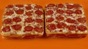 Little Caesars Bacon Wrapped DEEP!DEEP! Dish Pizza TV Spot, 'Gift Wrap'