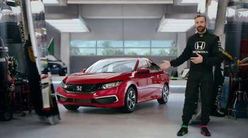 Honda Dream Garage Spring Event TV Spot, 'Racing Excitement' Featuring James Hinchcliffe [T2]
