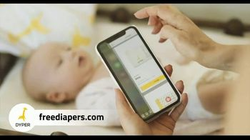 DYPER Bamboo Diaper Subscription TV Spot, 'Better for Baby and the Environment' - Thumbnail 3