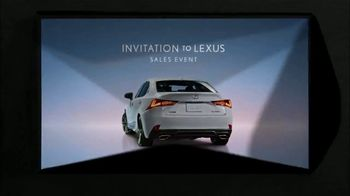 Invitation to Lexus Sales Event TV Spot, 'Exhilaration' [T2] - Thumbnail 7