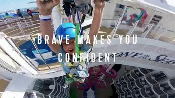 Royal Caribbean Cruise Lines TV Spot, 'Brave' Song by Danger Twins
