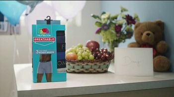 Fruit of the Loom Breathable Boxer Briefs TV Spot, 'Sky Dive' - Thumbnail 8