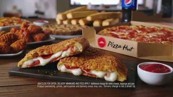 Pizza Hut P'Zone TV Spot, 'You Asked, We Delivered. The P'ZONE is Back!' - Thumbnail 7