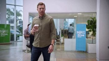 Volkswagen Sign Then Drive Event TV Spot, 'Coffee' [T2]