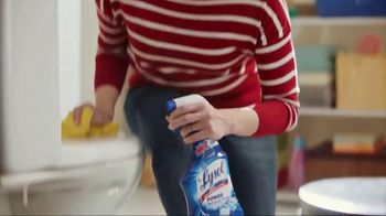 Lysol TV Spot, 'Cleaning Season Protection' - Thumbnail 8