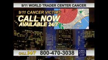 Greg Jones Law TV Spot, '9/11 World Trade Center Cancer' - Thumbnail 2