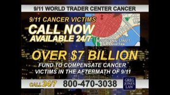 Greg Jones Law TV Spot, '9/11 World Trade Center Cancer'