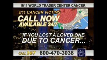 Greg Jones Law TV Spot, '9/11 World Trade Center Cancer' - Thumbnail 5
