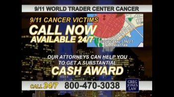Greg Jones Law TV Spot, '9/11 World Trade Center Cancer' - Thumbnail 6