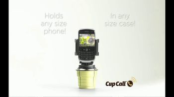 Cup Call TV Spot, 'Fits Any Cupholder' - Thumbnail 5