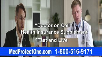 MedProtectOne TV Spot, 'Health Insurance Supplement'