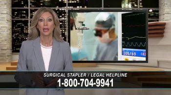 Cowper Law TV Spot, 'Surgical Stapler Legal Helpline' - Thumbnail 1