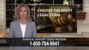 Cowper Law TV Spot, 'Surgical Stapler Legal Helpline' - Thumbnail 10