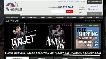 Lancaster Archery Supply TV Spot, 'Serving the Archery Community' - Thumbnail 1
