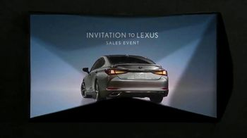 Invitation to Lexus Sales Event TV Spot, 'Enchantment' [T2] - Thumbnail 8