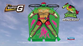Super G Rise of the Teenage Mutant Ninja Turtles Raphael Wingsuit TV Spot, 'A New Way to Fly' - Thumbnail 9