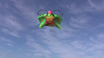 Super G Rise of the Teenage Mutant Ninja Turtles Raphael Wingsuit TV Spot, 'A New Way to Fly'