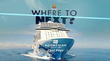 Norwegian Cruise Line TV Spot, 'History Channel: Greek Isles' - Thumbnail 1
