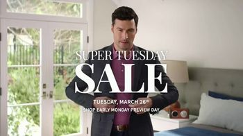 JoS. A. Bank Super Tuesday Sale TV Spot, 'Extra Clearance Discounts' - Thumbnail 1