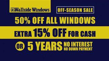 Wallside Windows Off-Season Sale TV Spot, 'Windows and Patio Doors' - Thumbnail 8