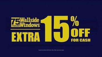 Wallside Windows Off-Season Sale TV Spot, 'Windows and Patio Doors' - Thumbnail 6