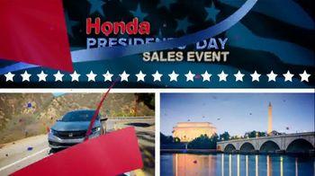 Honda Presidents Day Sales Event TV Spot, 'More Prestige' [T2] - Thumbnail 1
