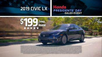 Honda Presidents Day Sales Event TV Spot, 'More Prestige' [T2] - Thumbnail 7