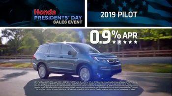 Honda Presidents Day Sales Event TV Spot, 'More Prestige' [T2] - Thumbnail 8