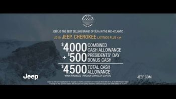 Jeep Presidents Day Sales Event TV Spot, 'Different Plans' Song by Carrollton [T2] - Thumbnail 9