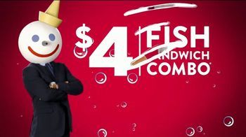 Jack in the Box $4 Fish Sandwich Combo TV Spot, 'It'll Make Everyone a Fish-Lover' - Thumbnail 1