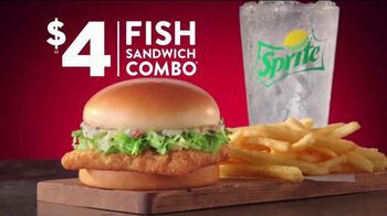 Jack in the Box $4 Fish Sandwich Combo TV Spot, 'It'll Make Everyone a Fish-Lover' - Thumbnail 5