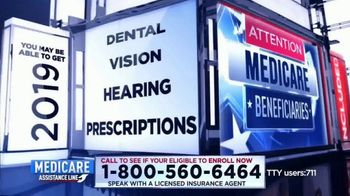Medicare Assistance Line TV Spot, 'Extra Benefits in 2019'