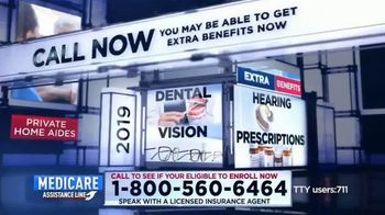 Medicare Assistance Line TV Spot, 'Extra Benefits in 2019' - Thumbnail 4