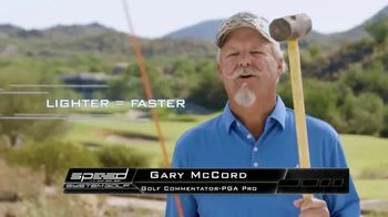 Revolution Golf Speed System TV Spot, 'Increase Driving Distance' Featuring Gary McCord - Thumbnail 3