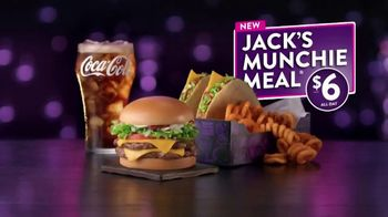Jack in the Box Jack's $6 Munchie Meal TV Spot, 'Burger Dippers'