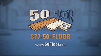 50 Floor TV Spot, 'Upgrade Your Home' Featuring Richard Karn - Thumbnail 7