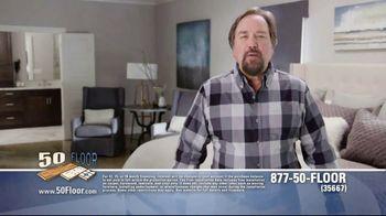 50 Floor TV Spot, 'Upgrade Your Home' Featuring Richard Karn - Thumbnail 2